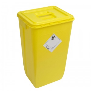 Spare Lids for WIVA Yellow 60-Litre Containers (Pack of 10 Lids)